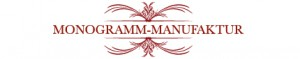 Monogramm Manufaktur - individuelle Monogramme